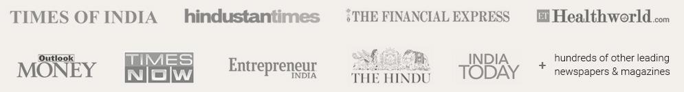 collage of logos